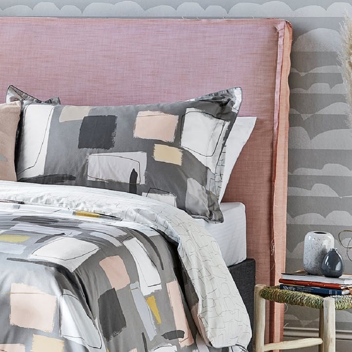 Composition Oxford Pillowcase, Putty