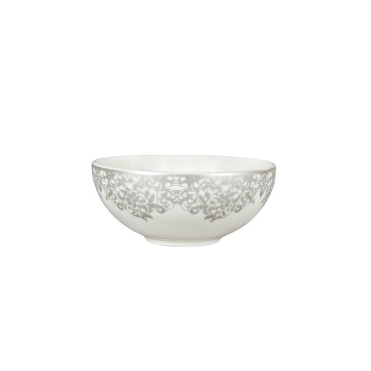 Filigree Silver Dessert Bowl, 13cm