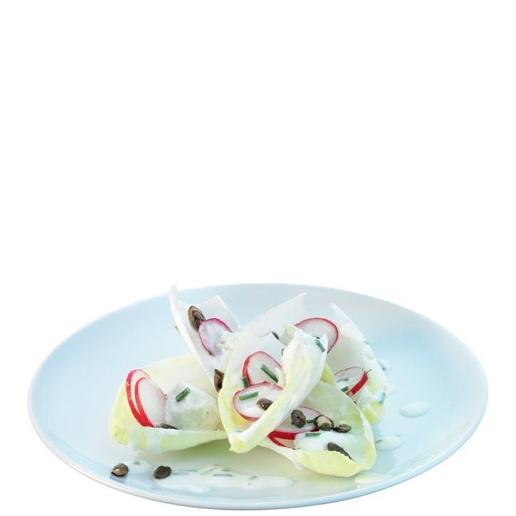 LSA Dine Coupe Starter/Dessert Plate, Set of 4