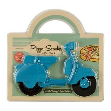 Scooter Pizza Cutter, L18 x W11cm, Blue