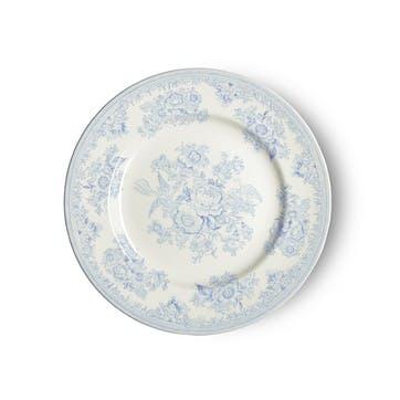 Asiatic Pheasants Plate, 17.5cm, Blue