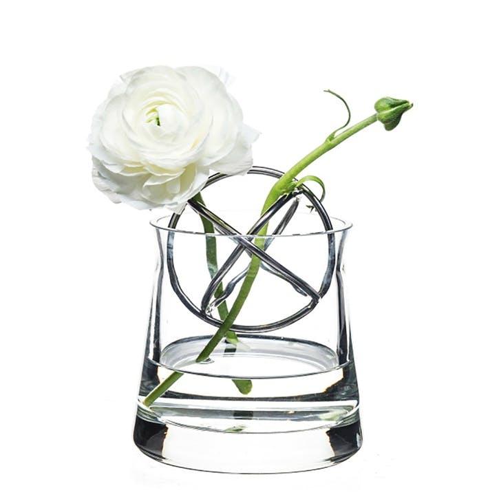 Sphere Vase Small, Stainless Steel