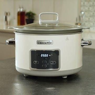 Duraceramic Saute Slow Cooker - 5L; White