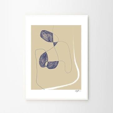 Ingenue - Anna Johansson Art Print D50cm x H70cm