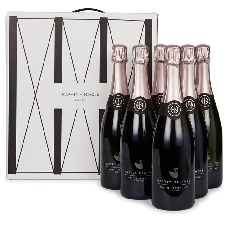 English Sparkling Rosé NV - Case of Six
