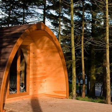 One Night Eco Glamping Pod Break at the Quiet Site, Lake District