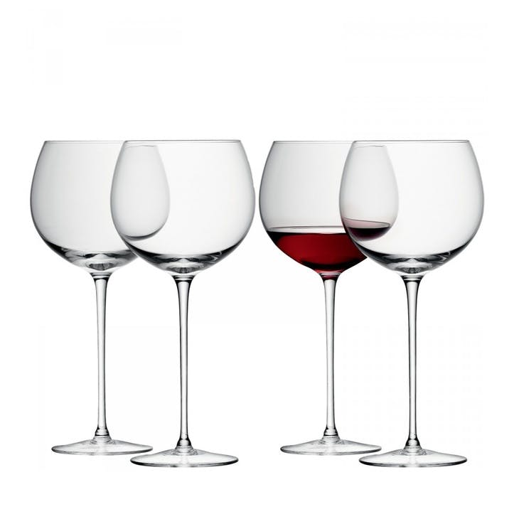 LSA Wine Balloon Glass 570ml, Set of 4
