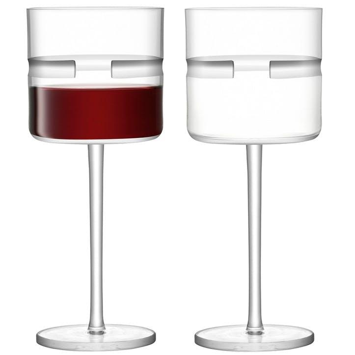 Horizon Red Wine Glasses, Set of 2