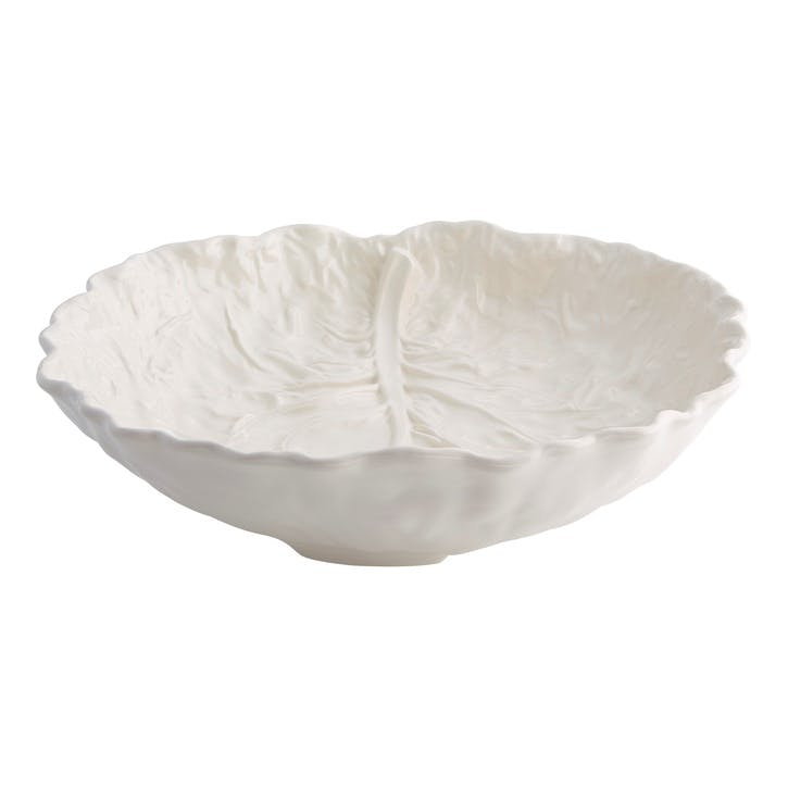 Cabbage Salad Bowl, 40cm, Beige