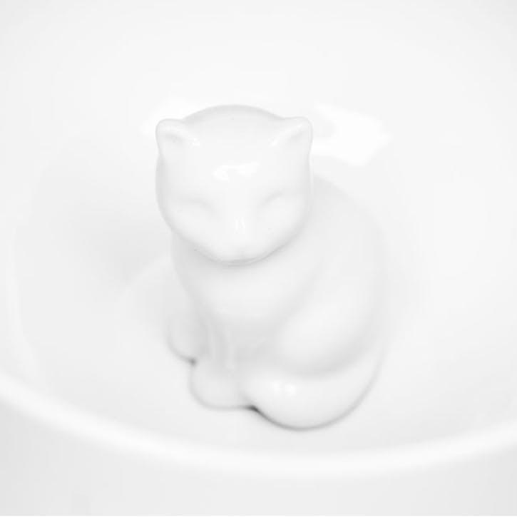 Cat Mug, White