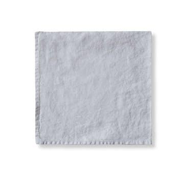Simple Hem Napkin, Dove Grey
