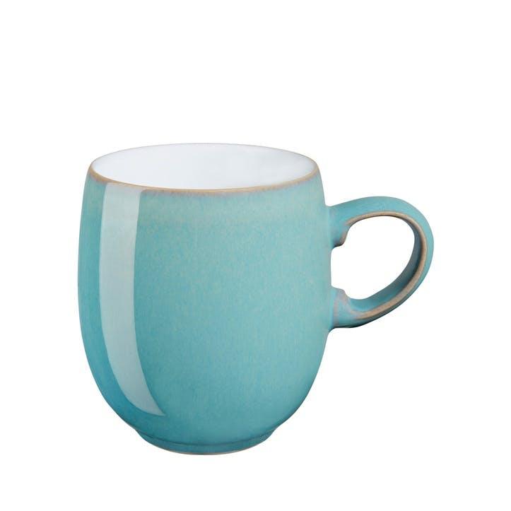 Azure Curve Mug 400ml, Turquoise