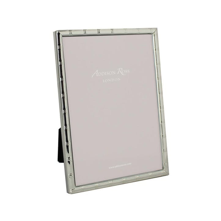 """Cane Silver Plated Photo Frame, 5"""" x 7"""""""