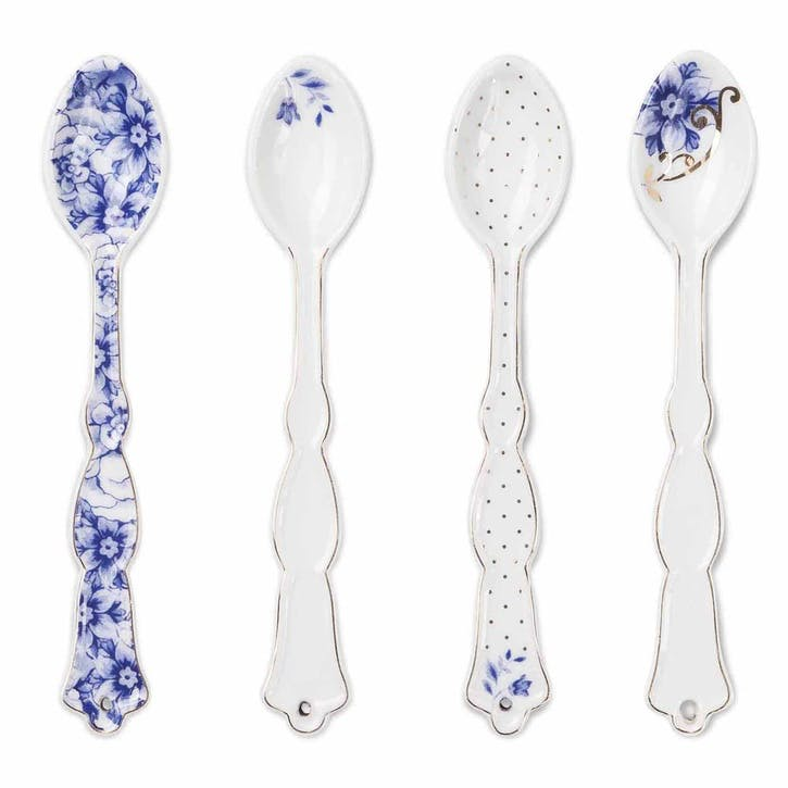 PiP Royal White Teaspoons, Set of 4