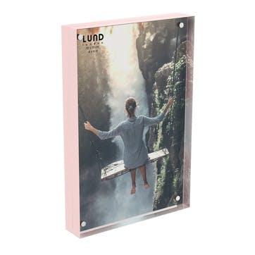 Skittle, Magnet Frame, H15 X W10cm, Pink