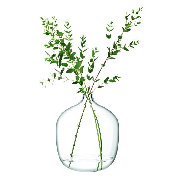 Vessel, Vase, H35cm, Clear