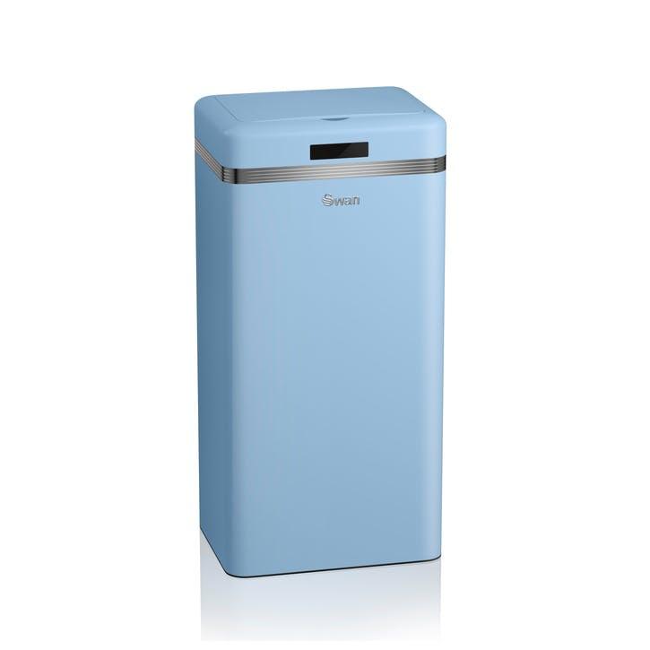 Retro Sensor Bin, Blue
