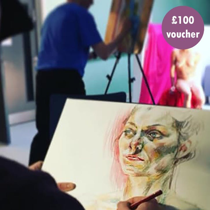 £100 Gift Voucher - Drawing/Painting Classes