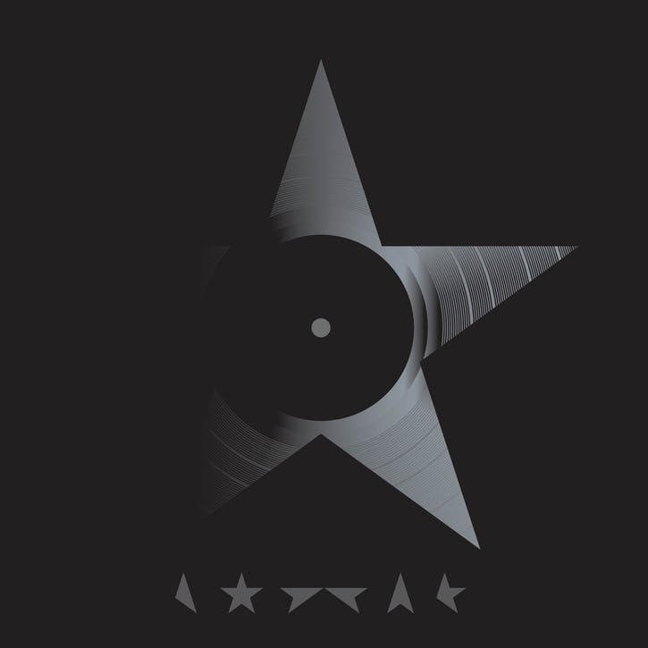 "David Bowie, Blackstar 12"" Vinyl"