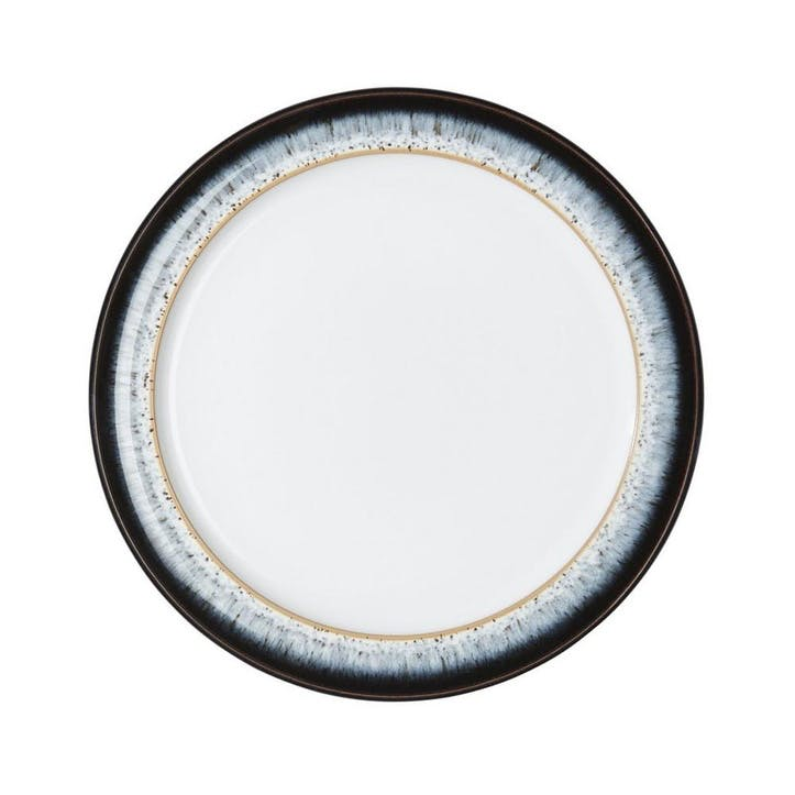 Halo Small Plate, 20.5cm, Black/ Blue