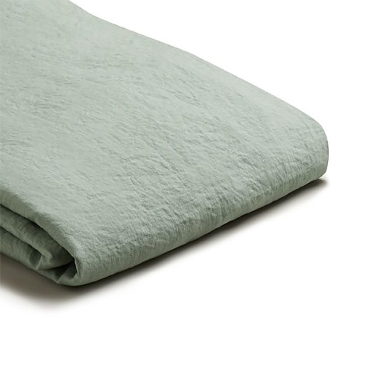 Complete Bedding Bundle Super King with Super King Pillowcases Sage Green