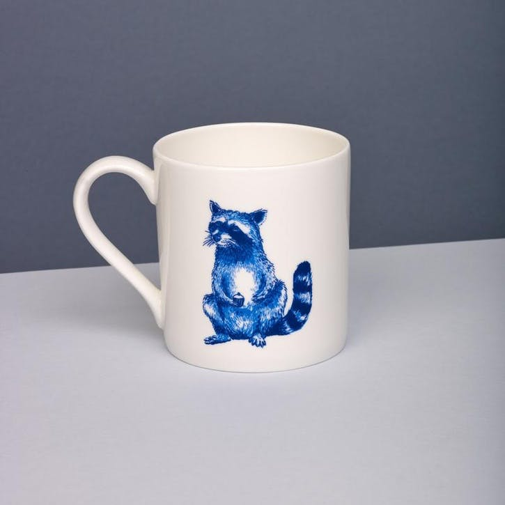 Raccoon Willow Mug