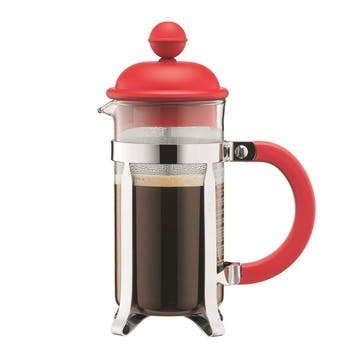 Caffettiera, 3 Cup Coffee Maker, 35cl, Red