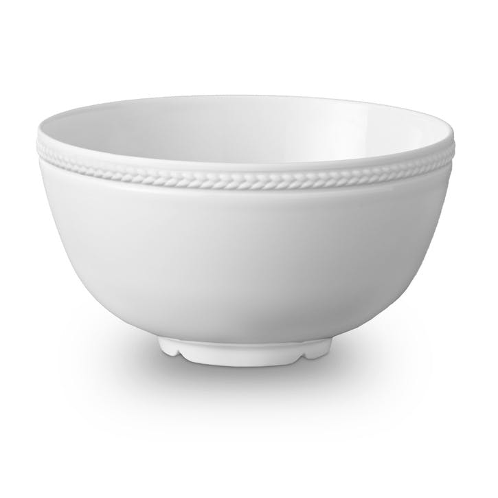 Soie Tressée Serving Bowl, White