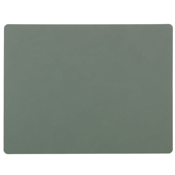Rectangular Placemat, Set of 4, Pastel Green