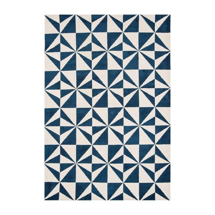 Arlo Mosaic Rug - 1.2 x 1.7m; Denim