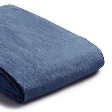 Super King Duvet Cover & Pillowcases, Blueberry