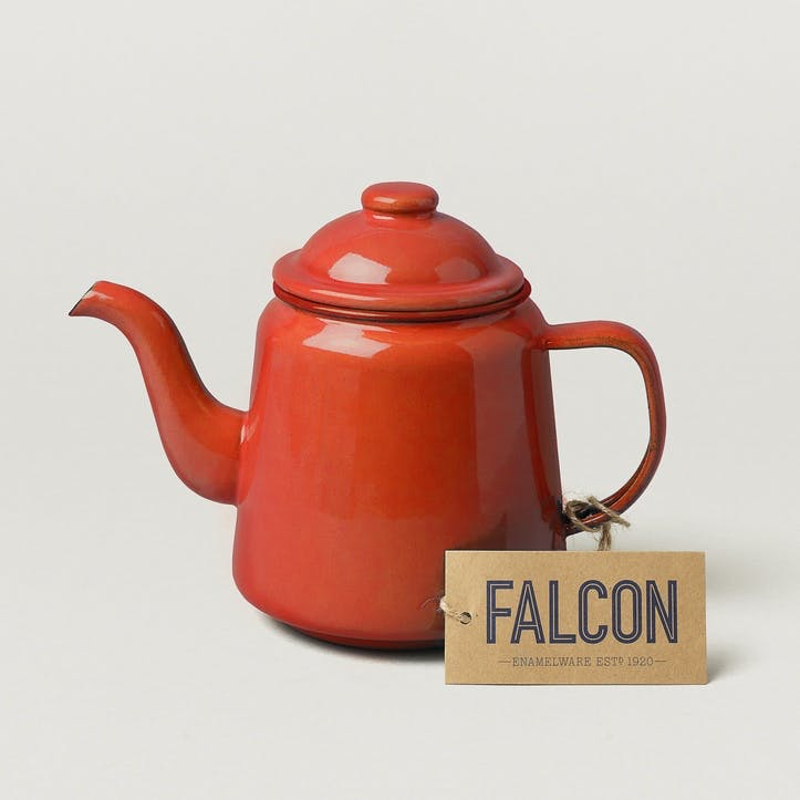 Teapot, Pillarbox Red