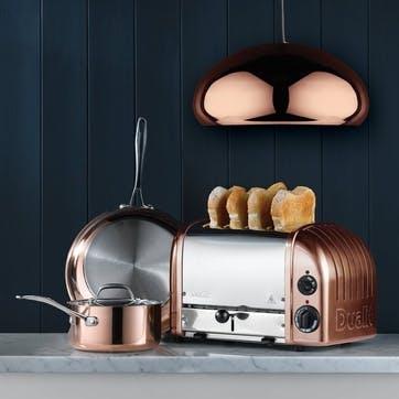 Classic Toaster, 4 Slot; Copper