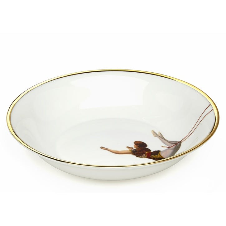 Acts Of Daring Trapeze Girl Bowl