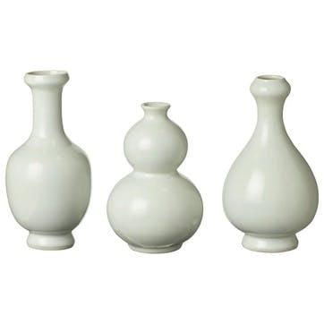 Cotteret Mini Decorative Vases, Set of 3