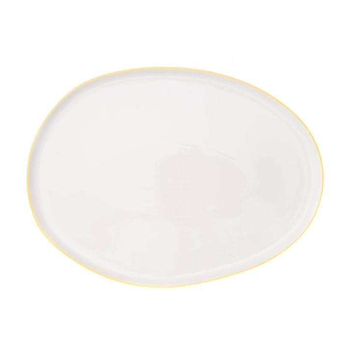 Abbesses Serving Platter, Yellow