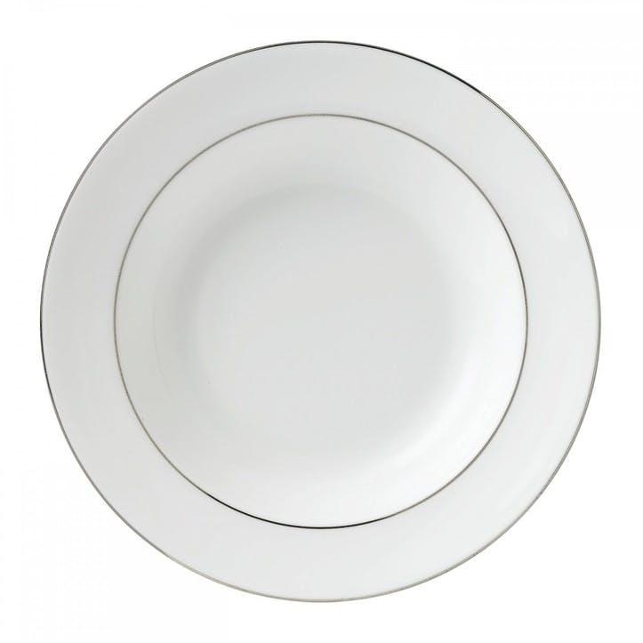 Signet Platinum Soup Plate