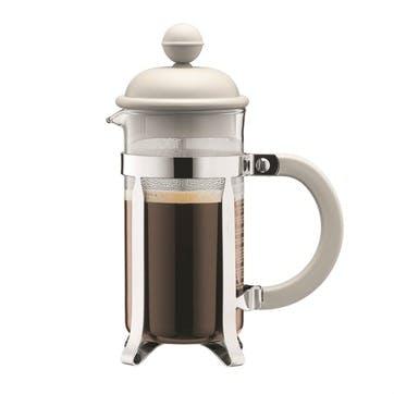 Caffettiera, 3 Cup Coffee Maker, 35cl, Off White