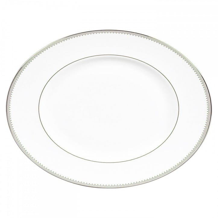 Grosgrain Oval Dish, Large
