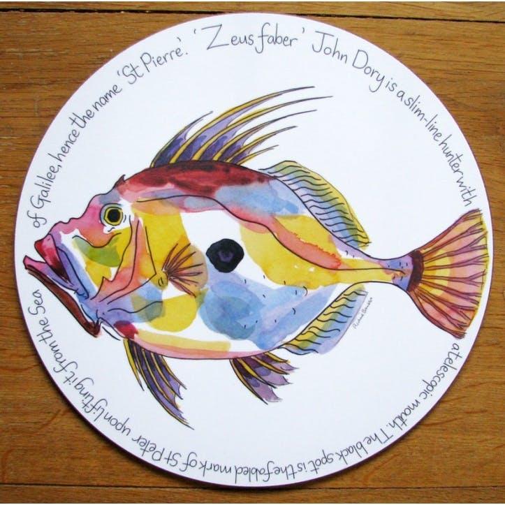 John Dory Tablemat - 28cm