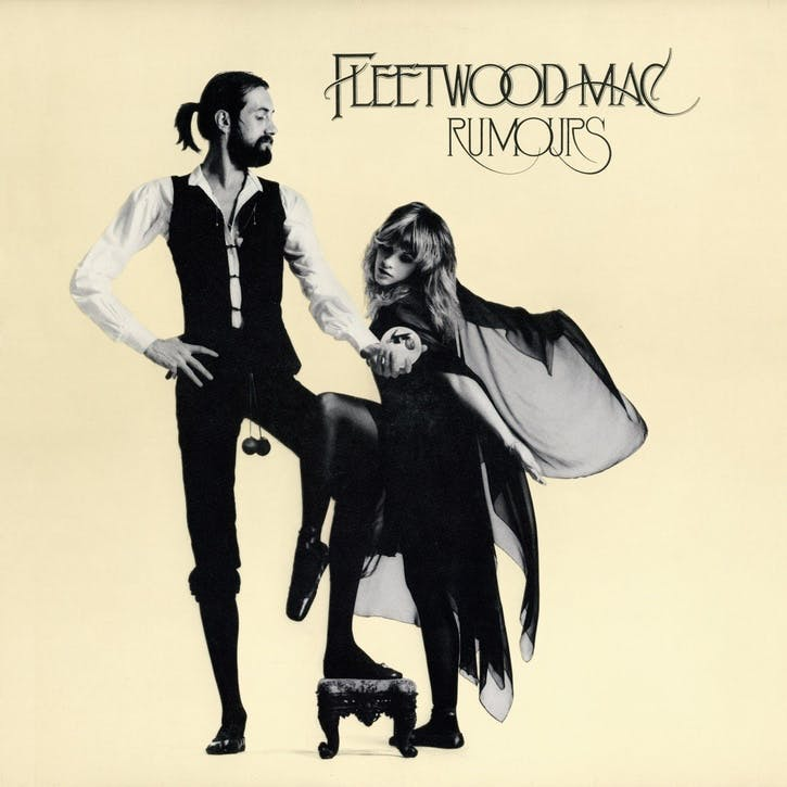 "Fleetwood Mac, Rumours 12"" Vinyl"