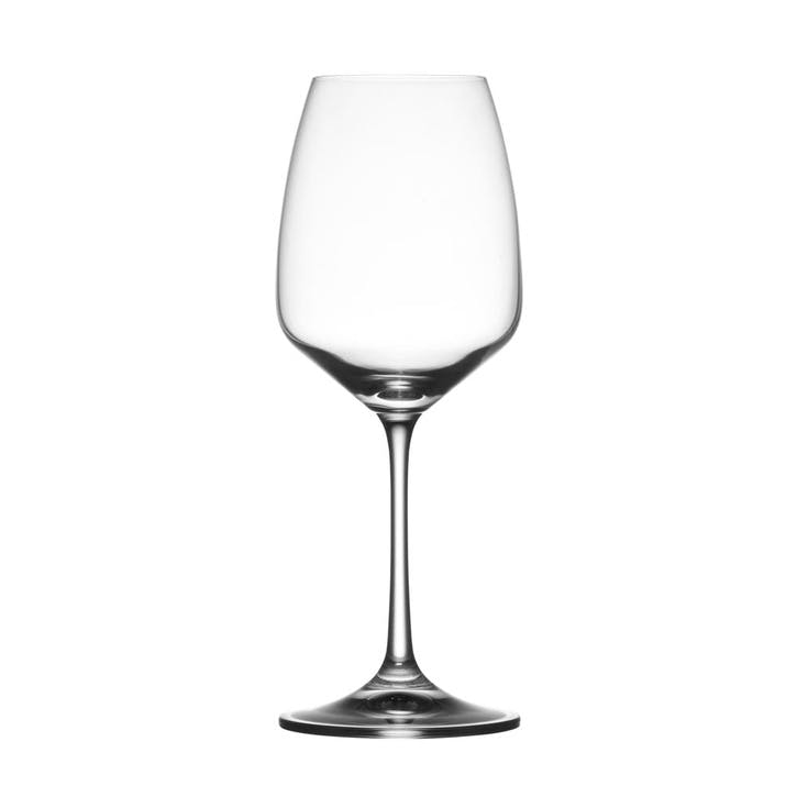 Osmo White Wine Glass, Set of 6, Clear