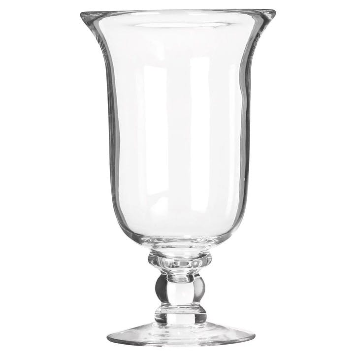 Glass Hurricane Lamp, Large