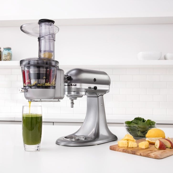 Maximum Extraction Slow Juicer Stand Mixer Attachment
