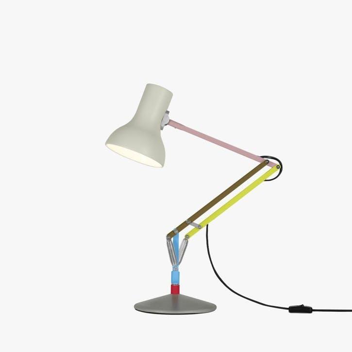Type 75 Paul Smith Edition 1 Mini Desk Lamp, Multicolours and Cream