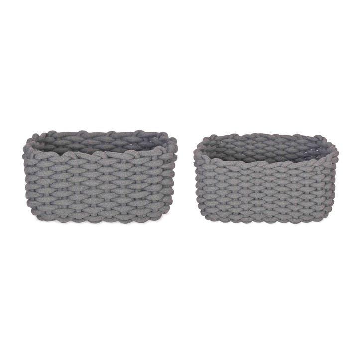 Chesil Rectangular Baskets, Set of 2