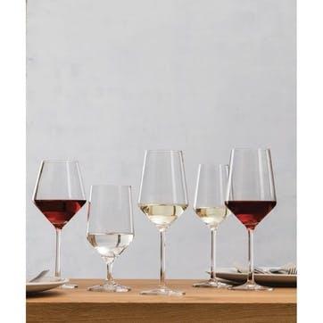 Pair of bordeaux glasses, 68cl, Schott Crystal, Pure