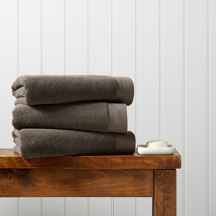 Luxe Hand Towel, Soot