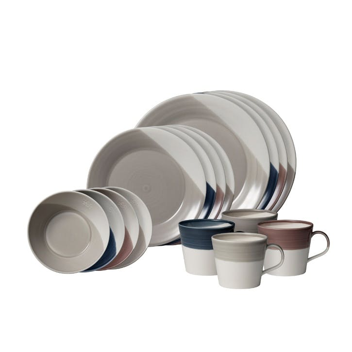 Bowls of Plenty Dinner Set, 16 Piece, Multi