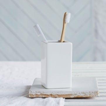 Newcombe Ceramic Toothbrush Holder